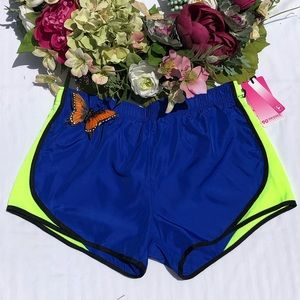Athletic Shorts w/ Built In Panty